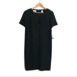 Liz Claiborne Dresses Size 6 Black Shift Dress NWT